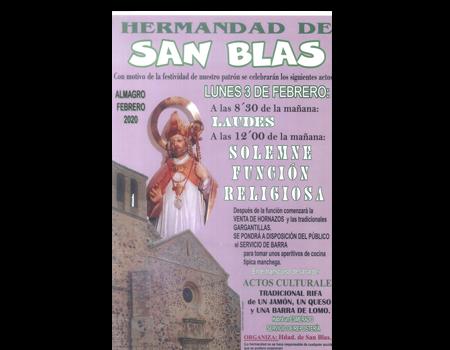 Festividad SAN BLAS (santos viejos)