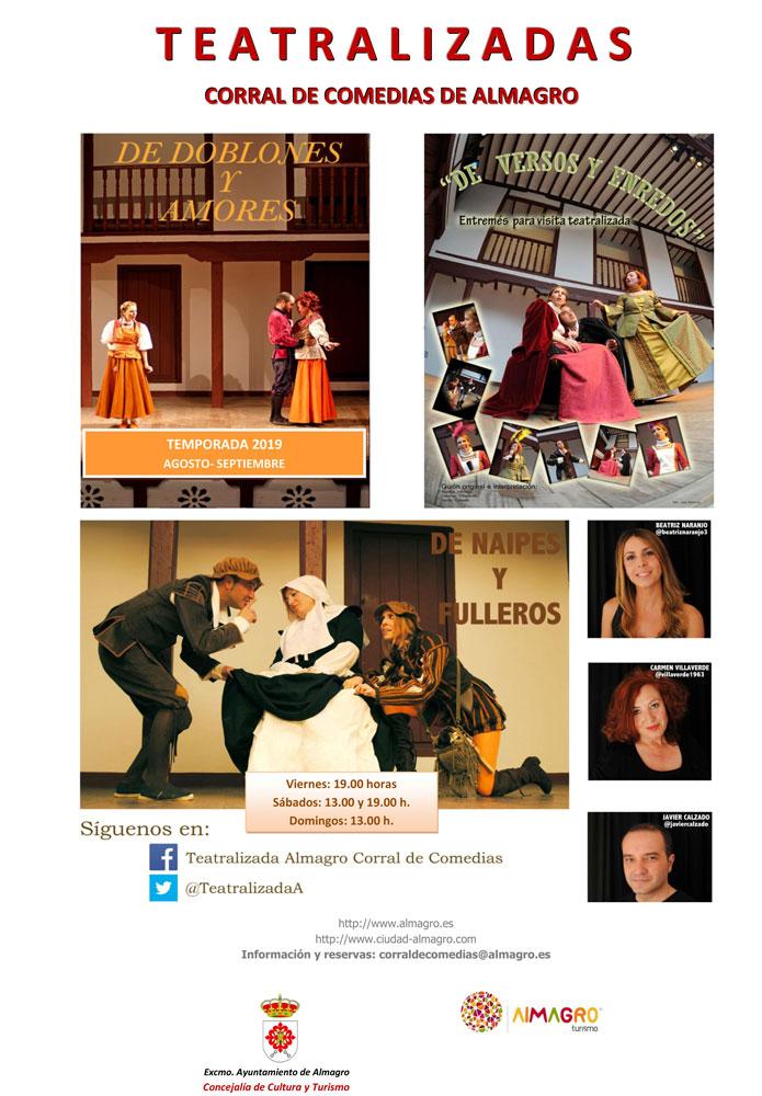 Visitas Teatralizadas Corral de Comedias - Viernes, Sábado y Domingo