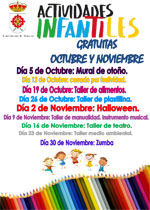 Actividad Infantil - Centro de Ocio - Taller de manualidades
