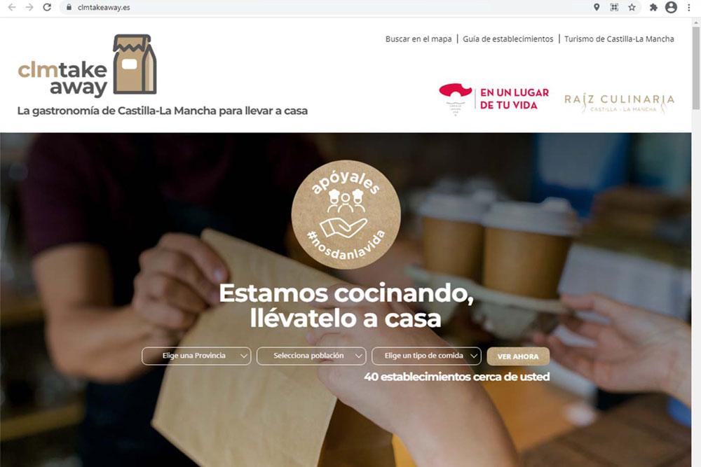 Nace un portal que aglutina la oferta de comida a domicilio para apoyar al sector de la hostelería en la región