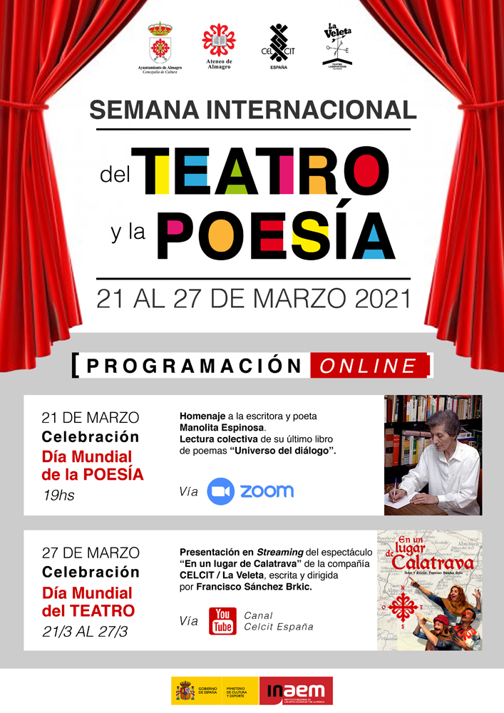 El Celcit celebra el Día Internacional de la Poesía con un homenaje a Manolita Espinosa