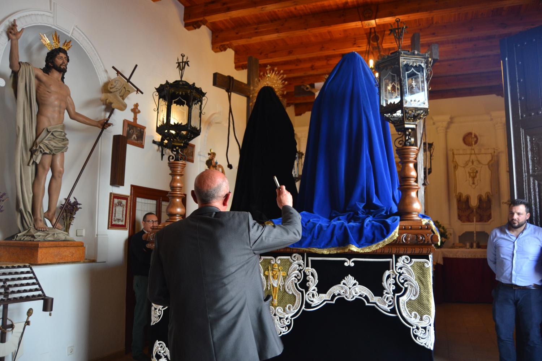 La Hermandad de la Veracruz bendice su nueva imagen María de Cleofás