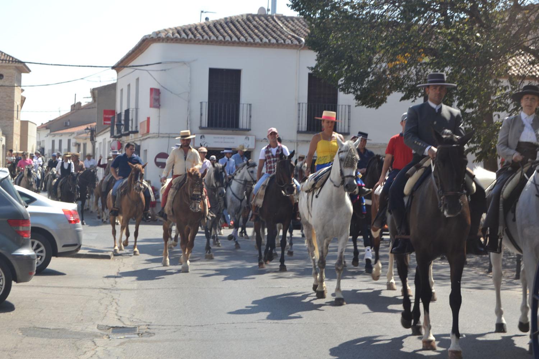 Segunda jornada de Feria en Almagro con pasodobles, piraguas, fiesta de la espuma y pasacalle ecuestre