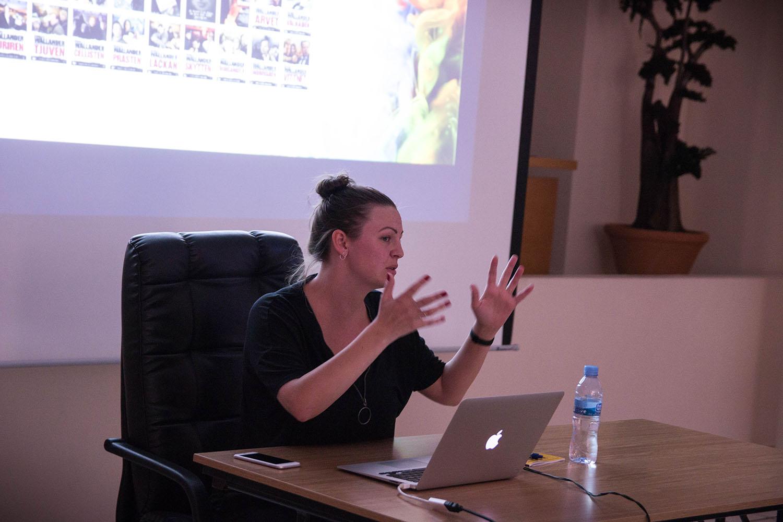 Sofie Palage, productora de Warner Bros, explica las claves sobre producción y desarrollo de proyectos audiovisuales