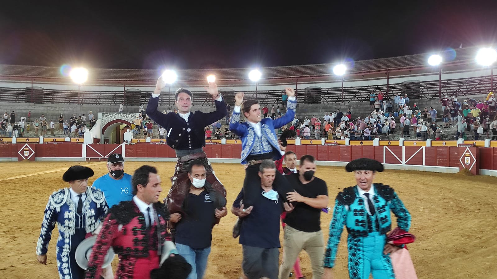 Rotundo triunfo de Guillermo Hermoso de Mendoza y Andy Cartagena