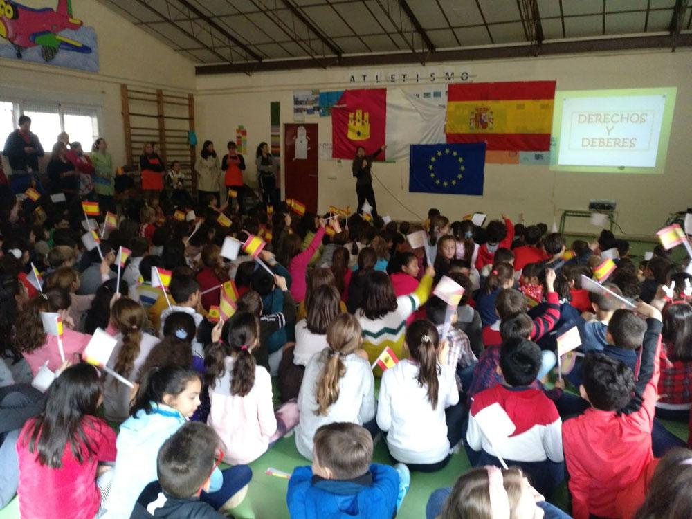 Los alumnos de los colegios de Almagro aprenden los derechos y deberes de la Constitución
