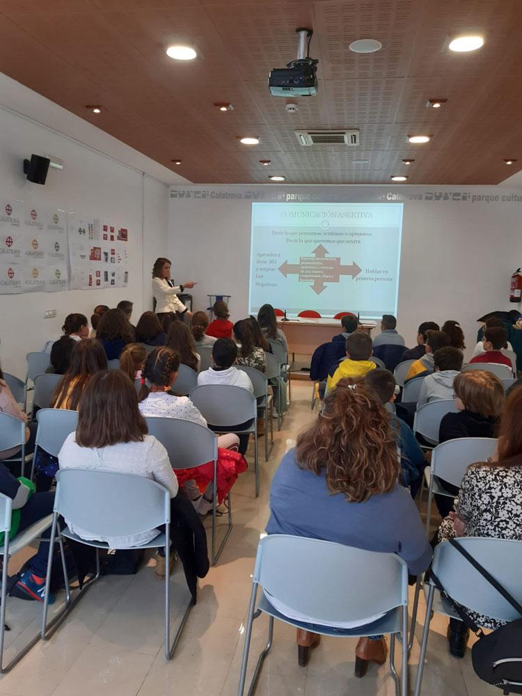 Alumnos de 5º y 6º de Primaria de los colegios de Almagro y Valenzuela de Calatrava se forman en mediación escolar