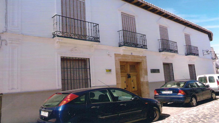 Antigua casa de la Clavería .Residencia que fue de los marqueses de la Concepción gran parte  del siglo XIX, principios del XX.