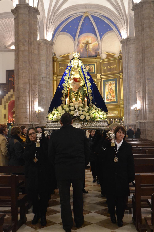 El barrio de San Pedro celebra La Candelaria