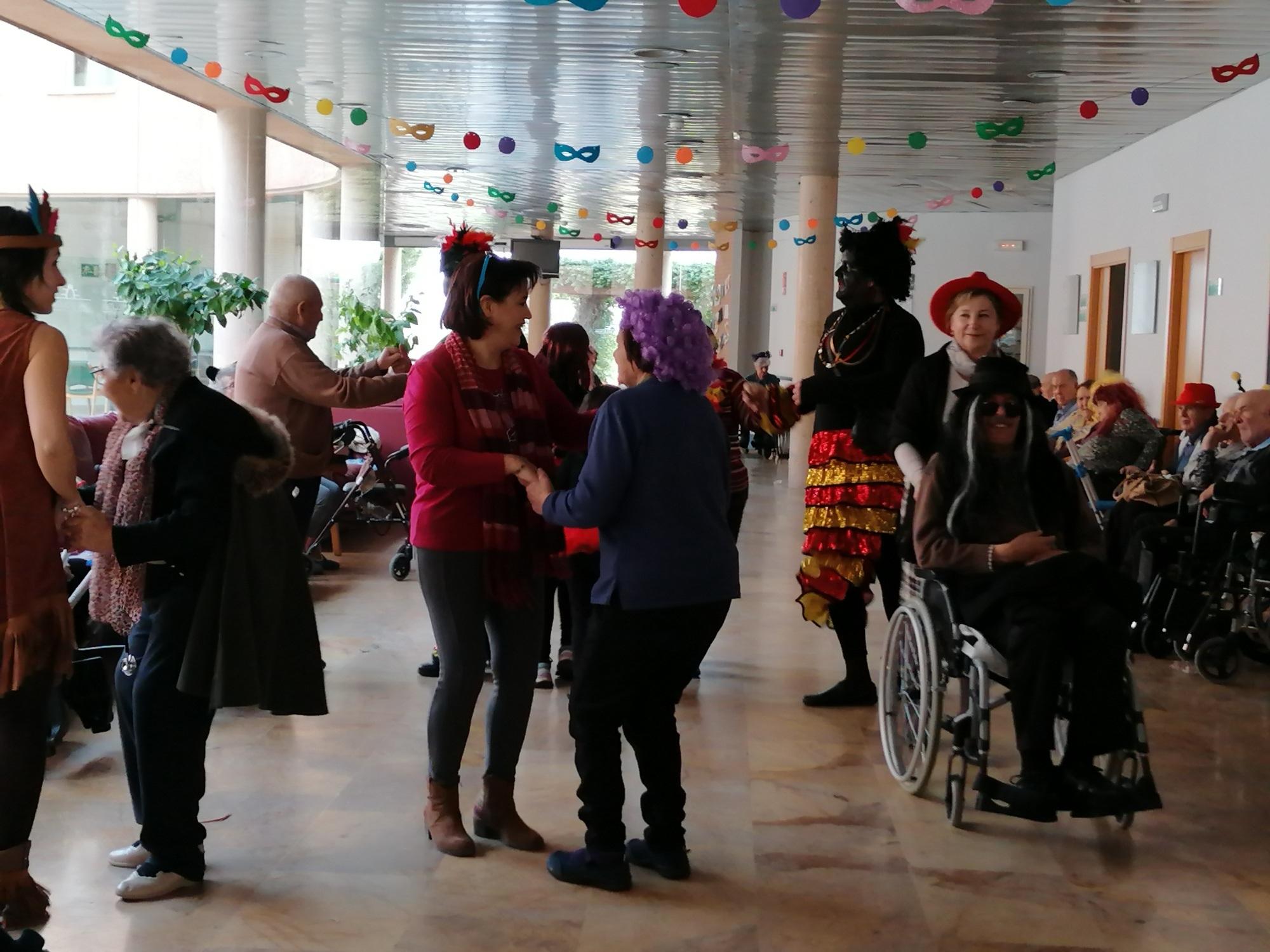 Los mayores disfrutan también de Carnaval