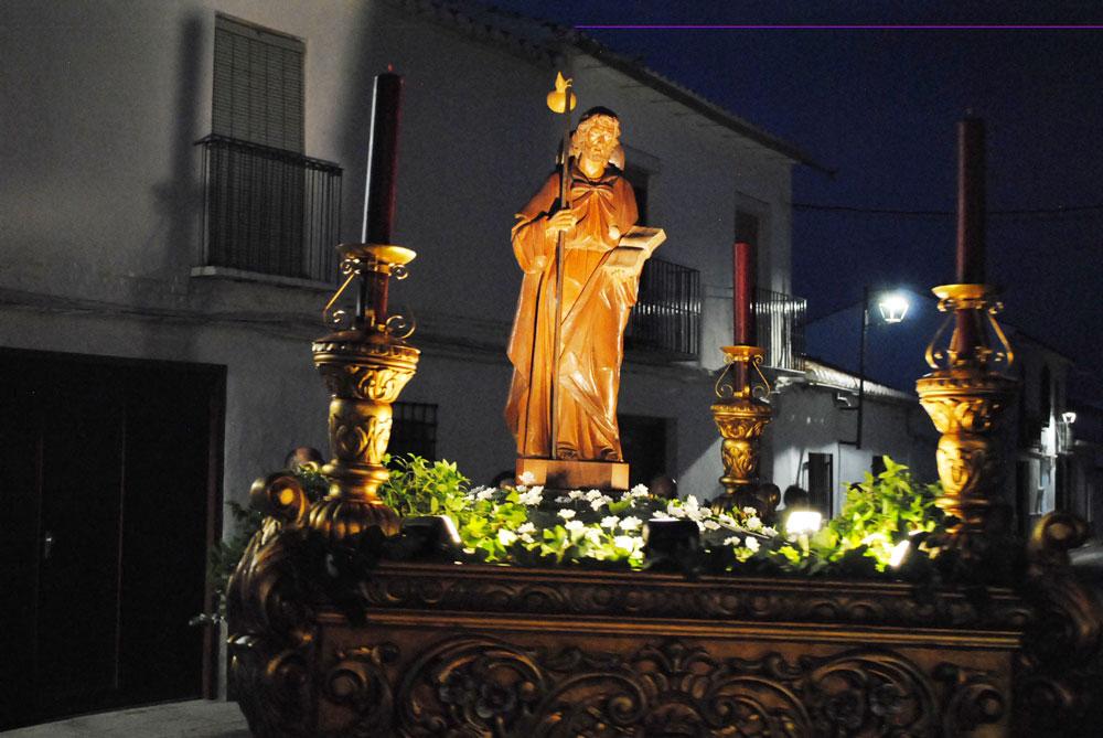 Verbena y procesión también en el barrio de San Pedro