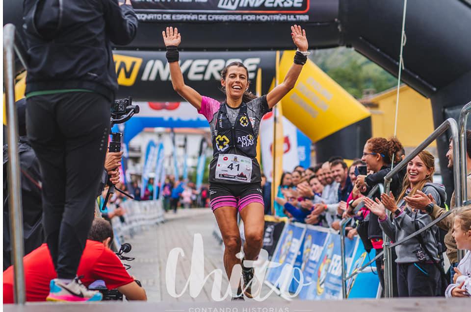 Nuevo título nacional de Ultra Trail para la campeona Gemma Arenas