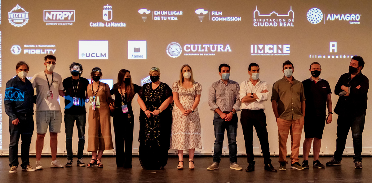 El Festival de Cine de Almagro se inaugura con un evento  y donde se aúna el pasado, el presente y el futuro del cine