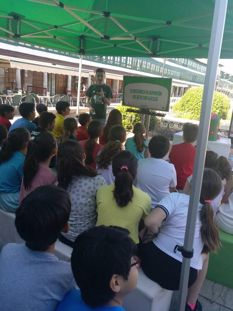 Los alumnos de infantil del colegio Paseo Viejo de la Florida se convierten en los guardianes del medio ambiente en Almagro