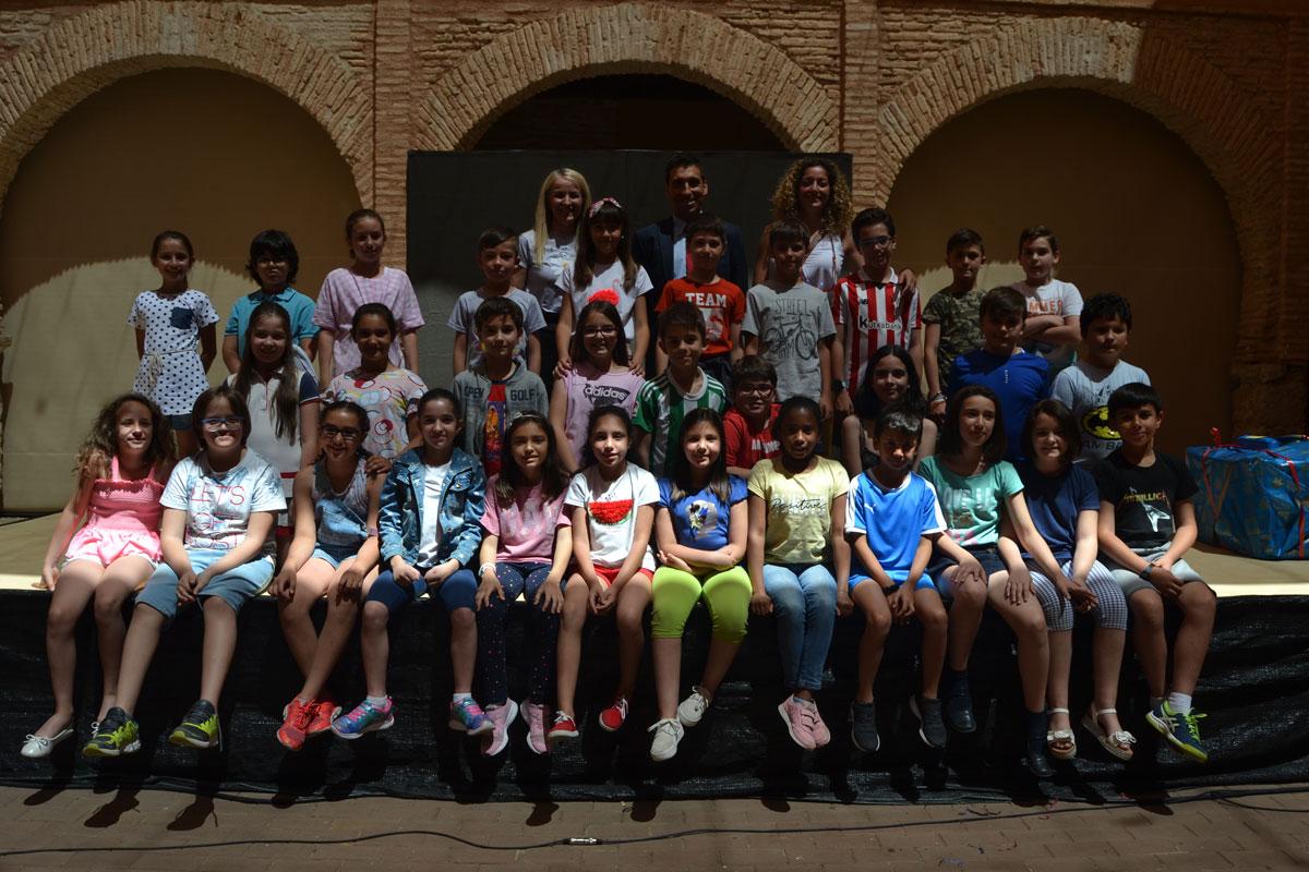 El colegio Miguel de Cervantes, finalista del I Certamen de Teatro y Movilidad