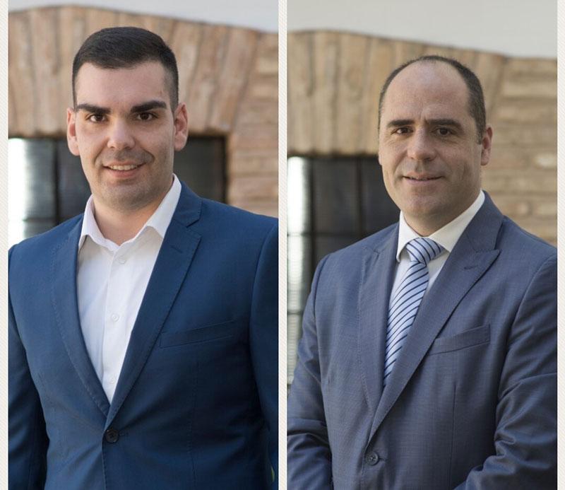 Francisco Núñez y David Fúnez ejerceran la labor de oposición del Partido Popular en el Ayuntamiento