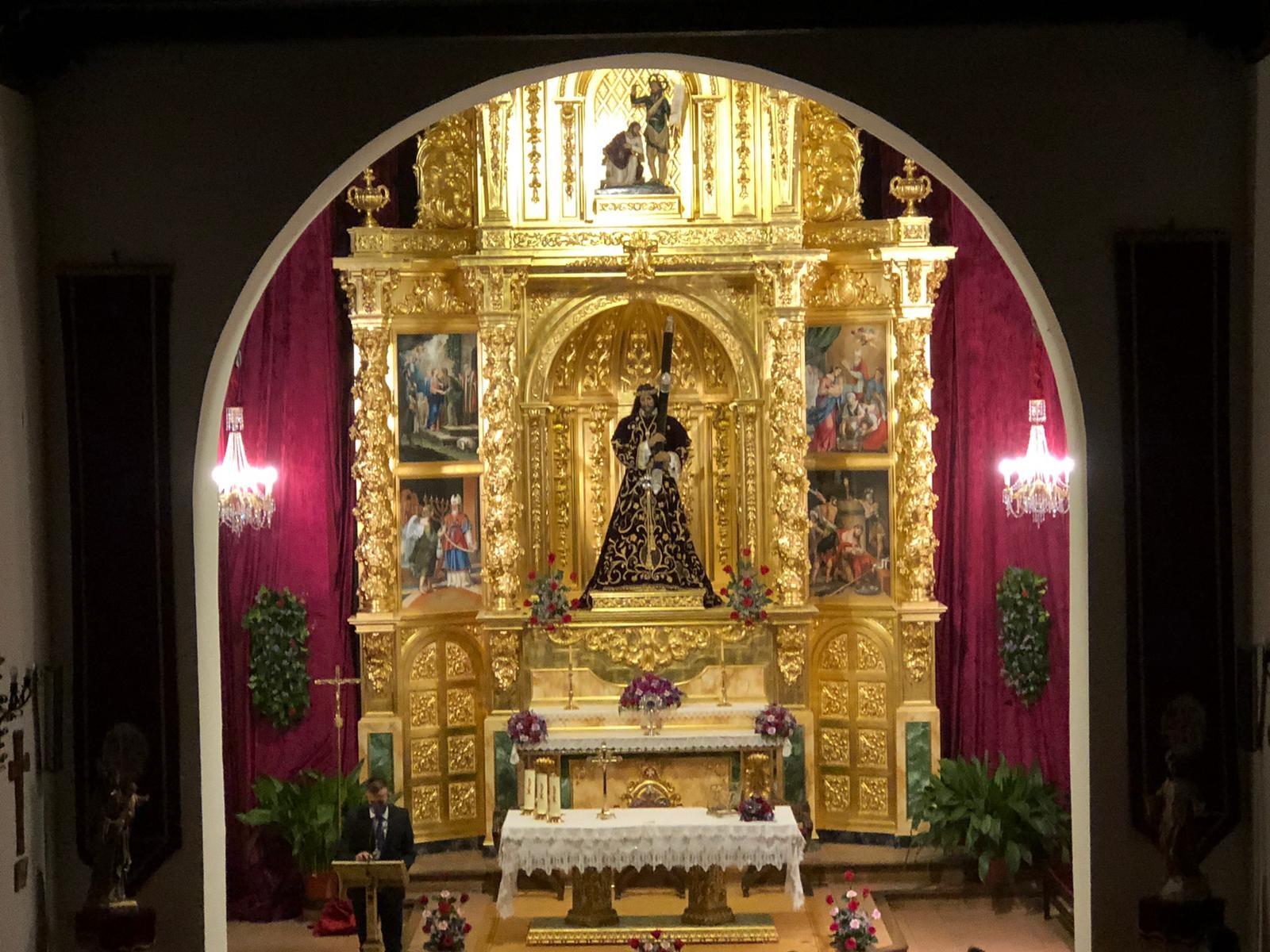 La ermita de San Juan estrena retablo
