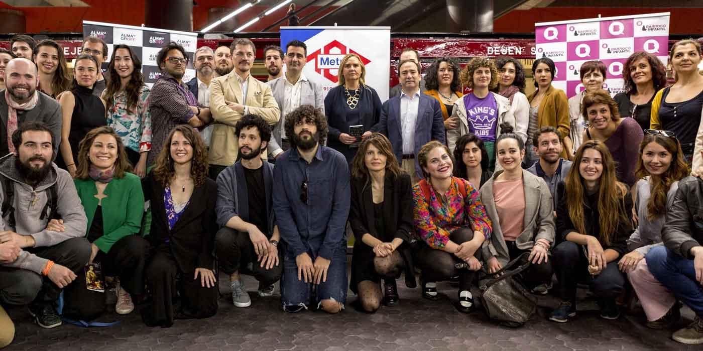 El Festival Internacional de Teatro Clásico presentó los certámenes Almagro Off y Barroco Infantil en la estación de Metro de Chamartín