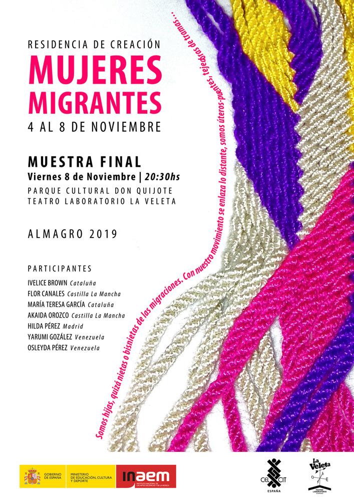 "La Veleta acoge esta tarde la muestra final de ""Mujeres migrantes"""