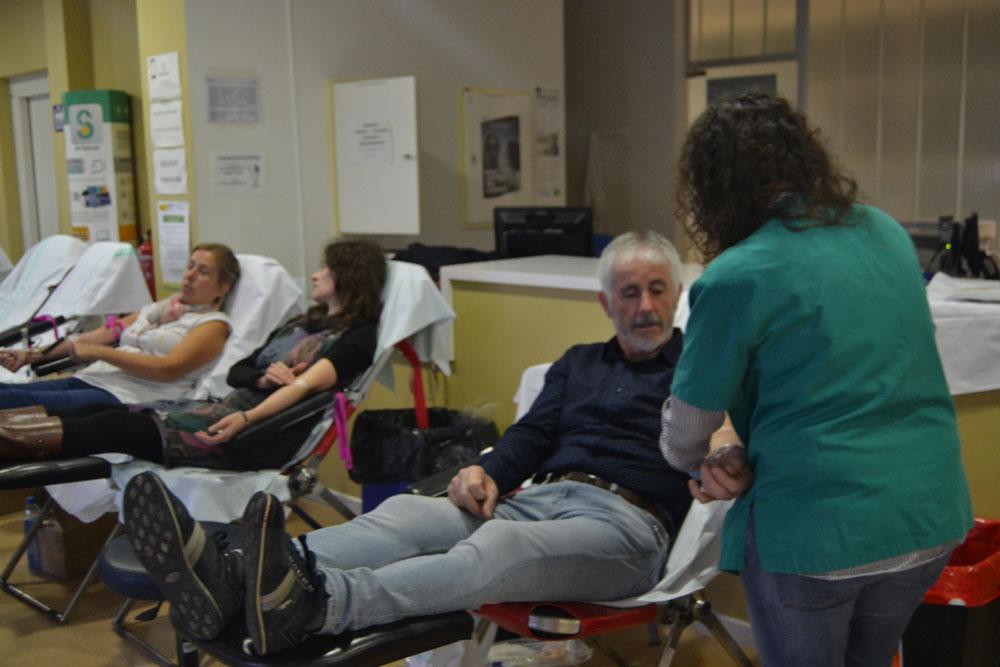 Doce almagreños donaron sangre por primera vez en la última extracción