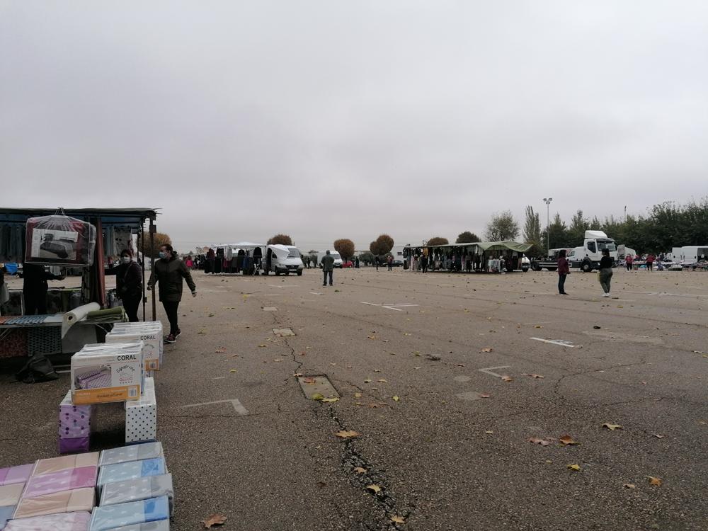 Sanidad no autoriza ampliar el mercadillo al cien por cien de su aforo solicitado por el Ayuntamiento de Almagro
