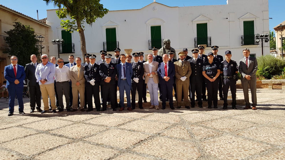 La Policía Municipal celebra los santos Ángeles Custodios