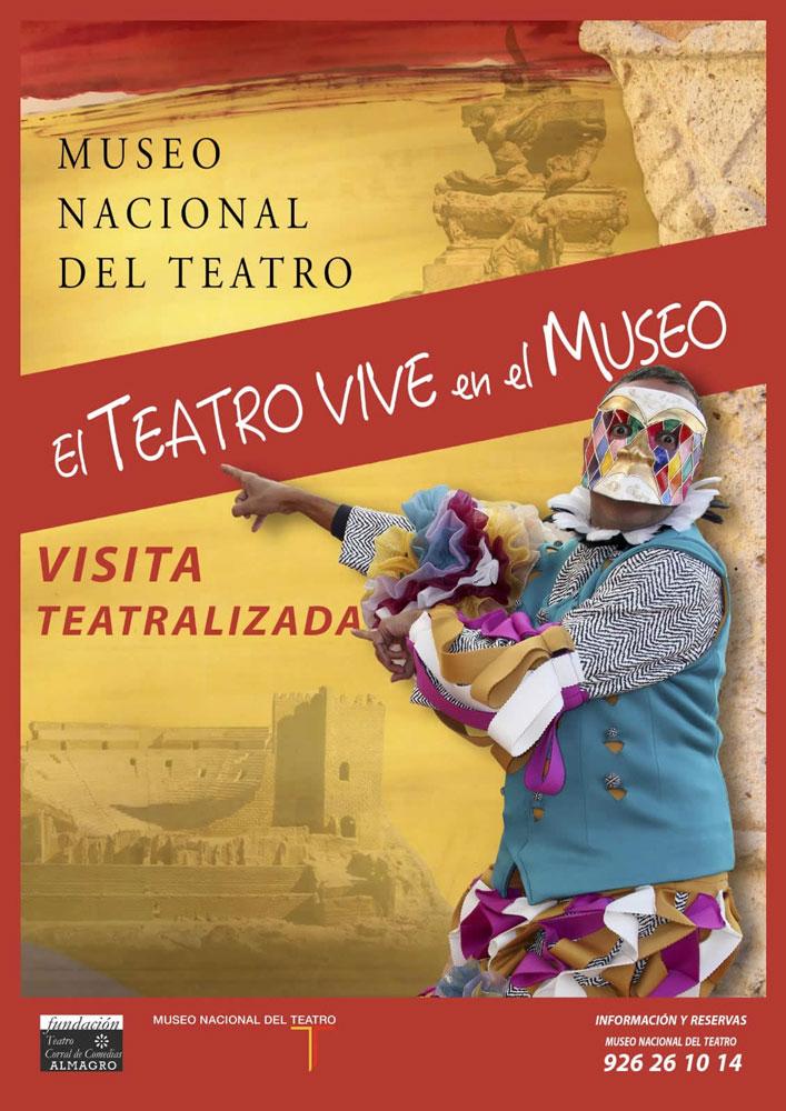 El Museo Nacional de Teatro inicia la actividad cultural de otoño con una visita teatralizada