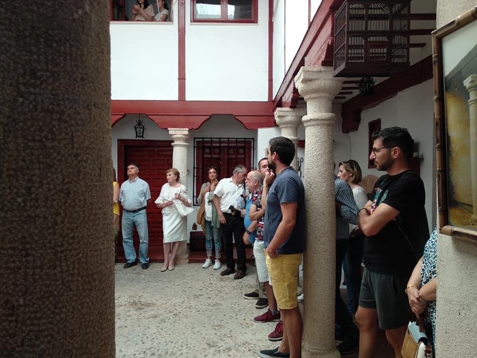 Más de un cien personas participaron en la V Ruta guiada de Patios de Almagro