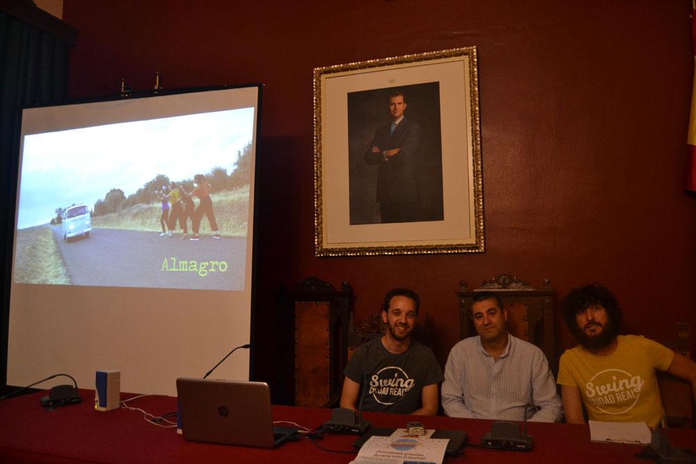 """La asociación """"Swing Ciudad Real"""" elige Almagro para su video promocional """"We Charleston Ciudad Real"""""""