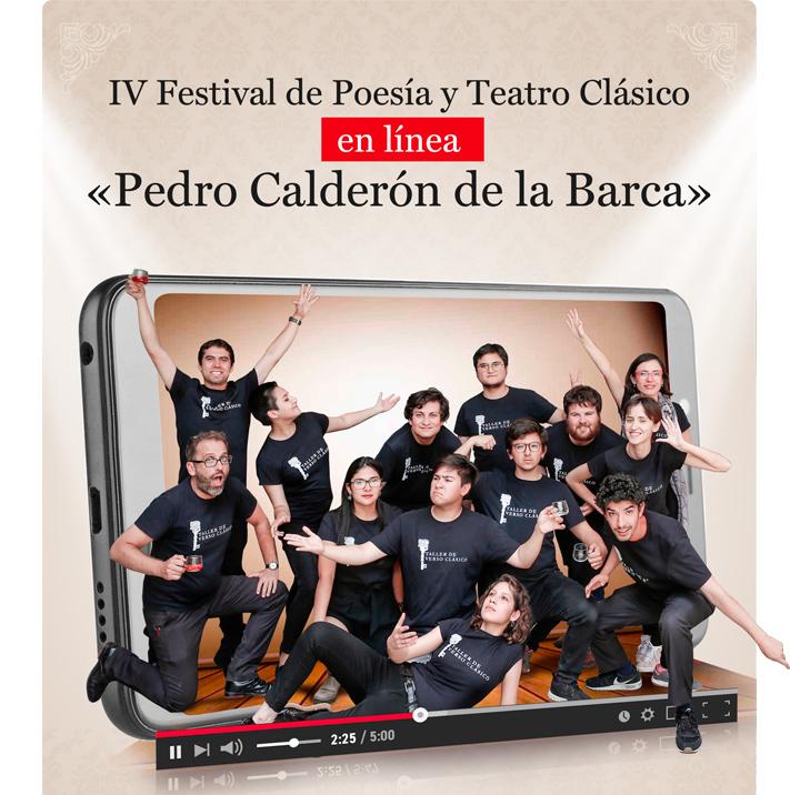 """La compañía Corrales de Comedias Teatro participará en la  edición online del IV Festival de Poesía y Teatro Clásico """"Pedro Calderón de la Barca"""""""