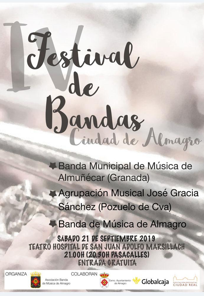 IV Festival de Bandas Ciudad de Almagro