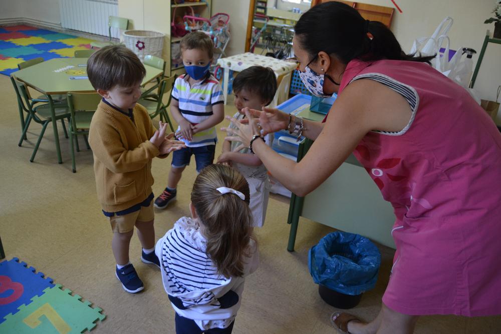 Los centros educativos de Almagro vuelven al cole de manera escalonada