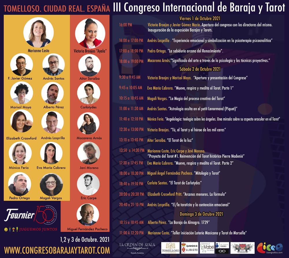 Tomelloso y Almagro, capitales mundiales de la Baraja y el Tarot el primer fin de semana de octubre