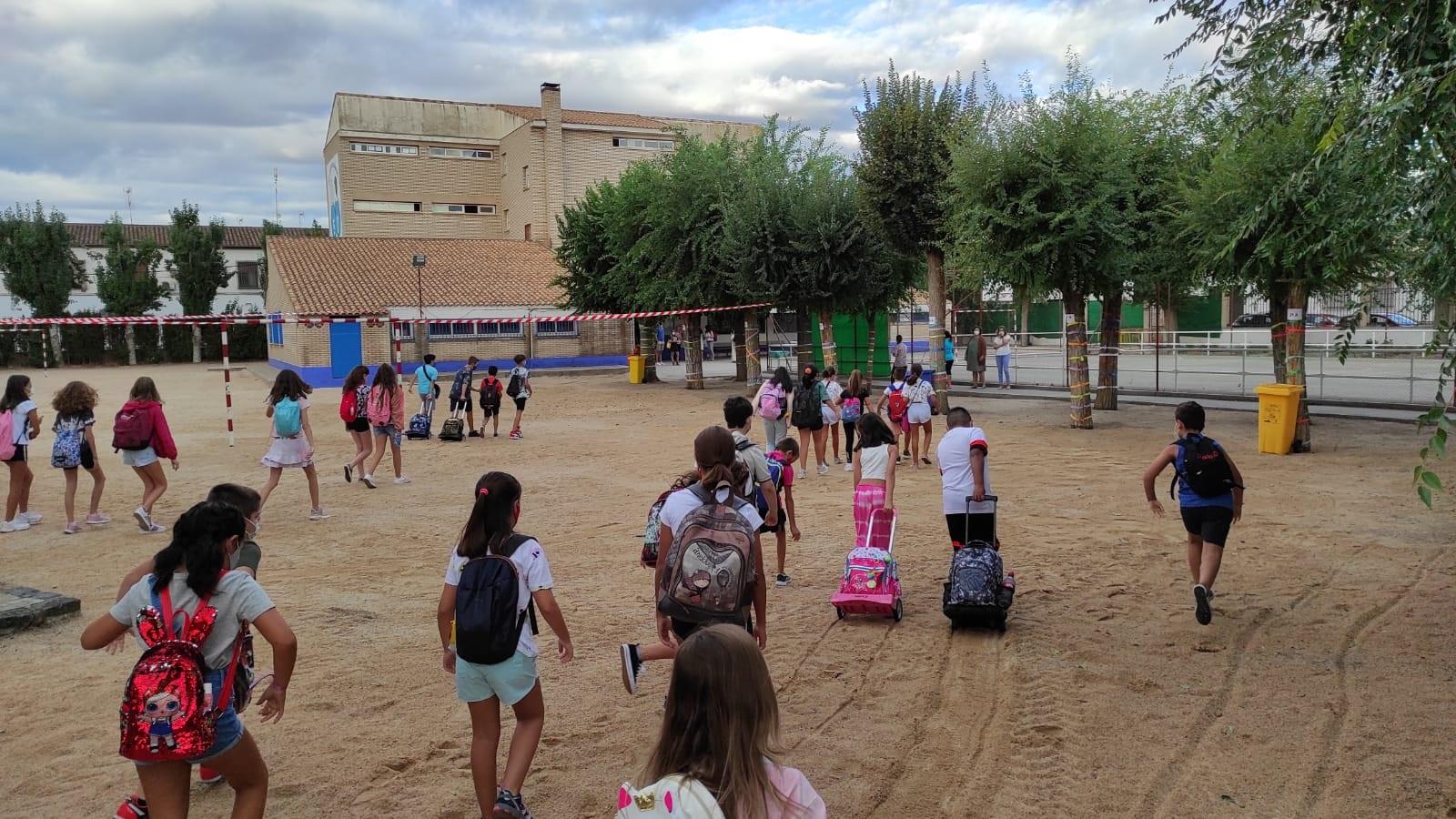 El curso escolar arranca en Almagro con normalidad con las mismas medidas COVID