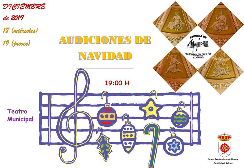 Audición de Navidad - Escuela de Música