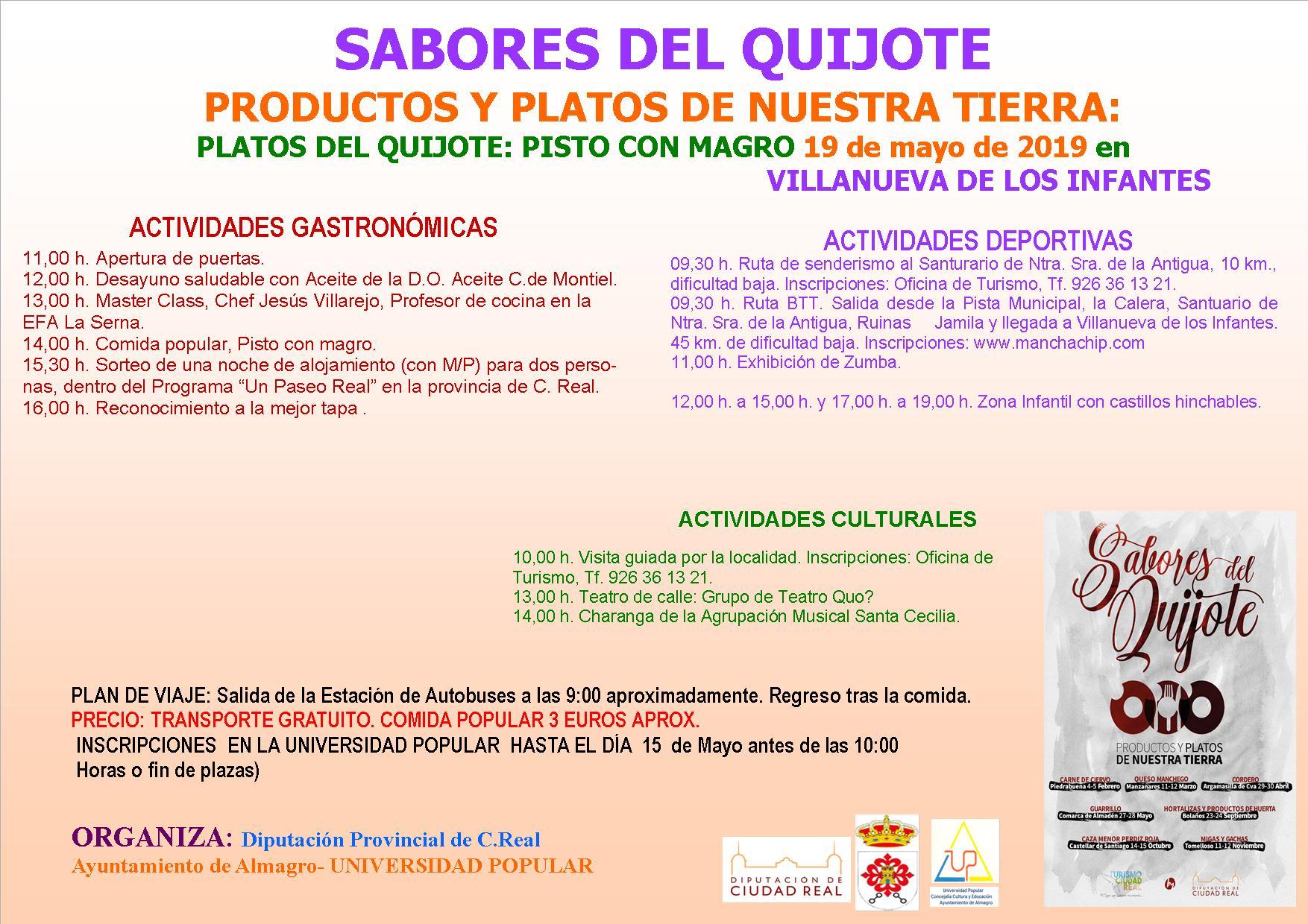 Sabores del Quijote - Villanueva de los Infantes