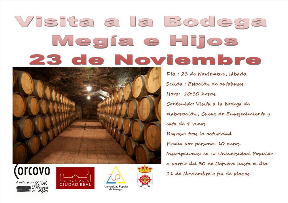 Visita a la Bodega Megía e Hijos - Universidad Popular