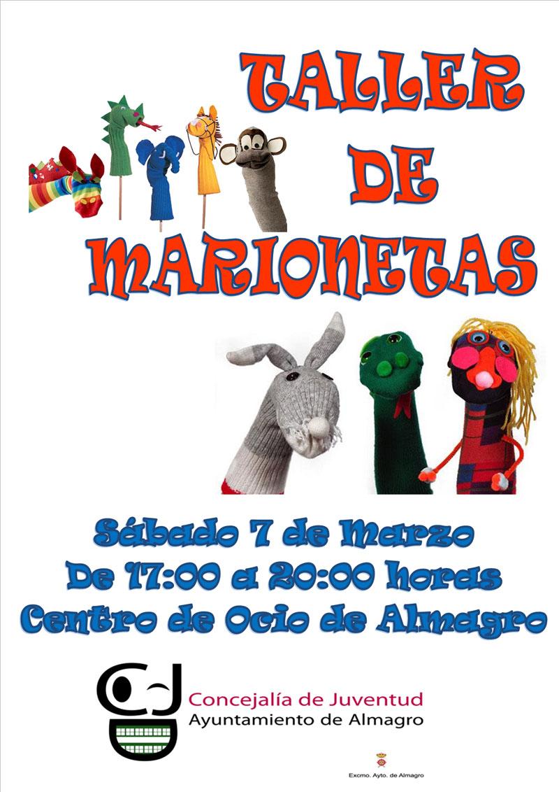 Taller infantil gratuito. Marionetas