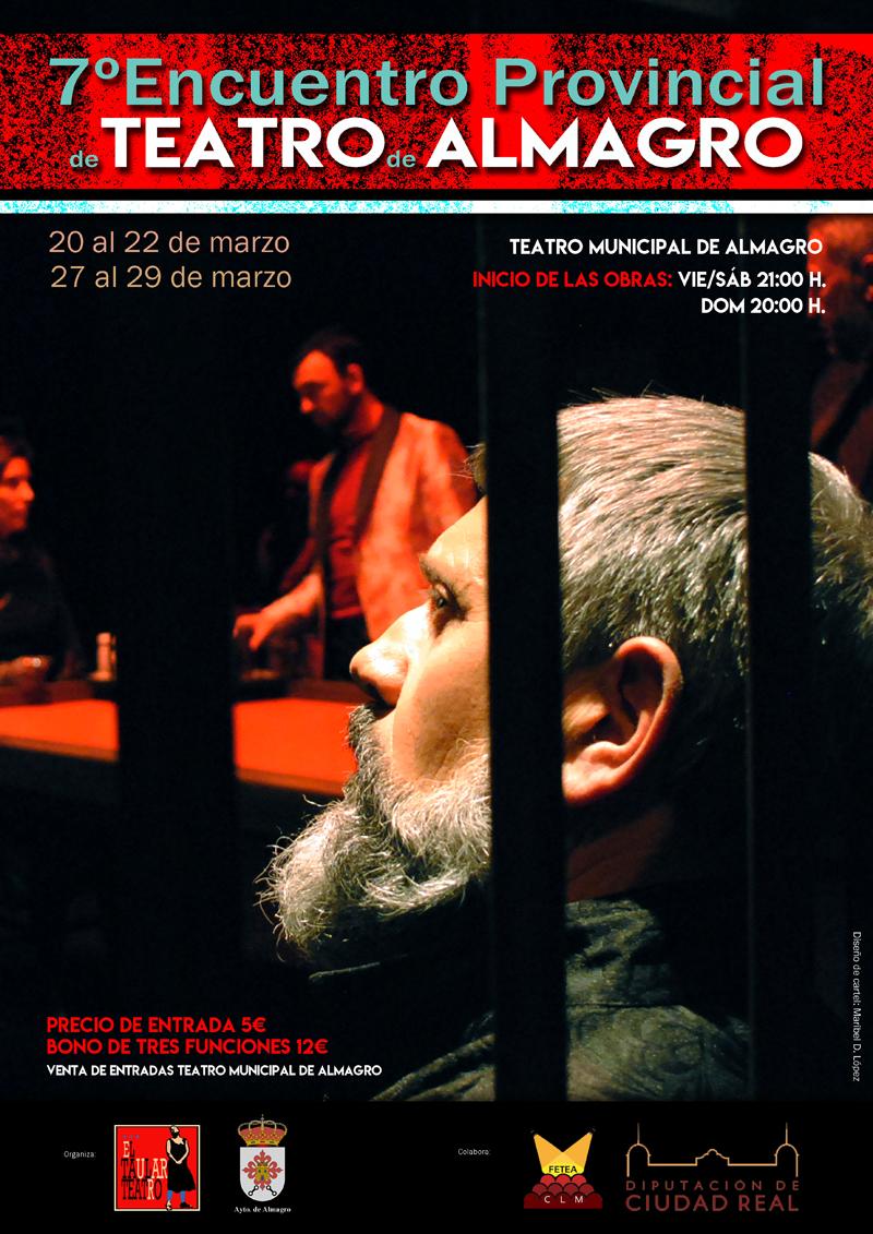 POSPUESTO. VII Encuentro de Teatro de Aficionado (del 20 al 22 de marzo y del 27 al 29 de marzo)