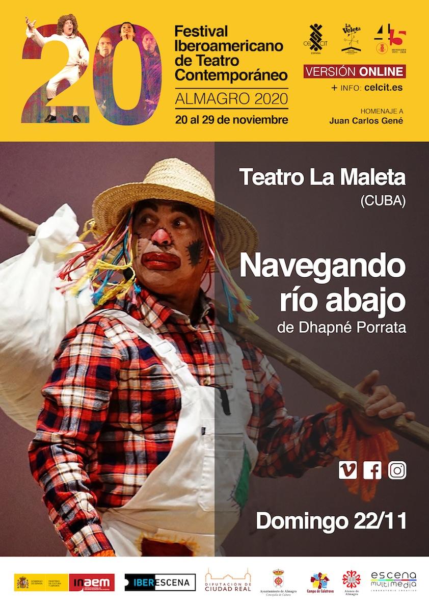 20 Festival Iberoamericano de Teatro Contemporáneo. Teatro familiar. Navegando río abajo.