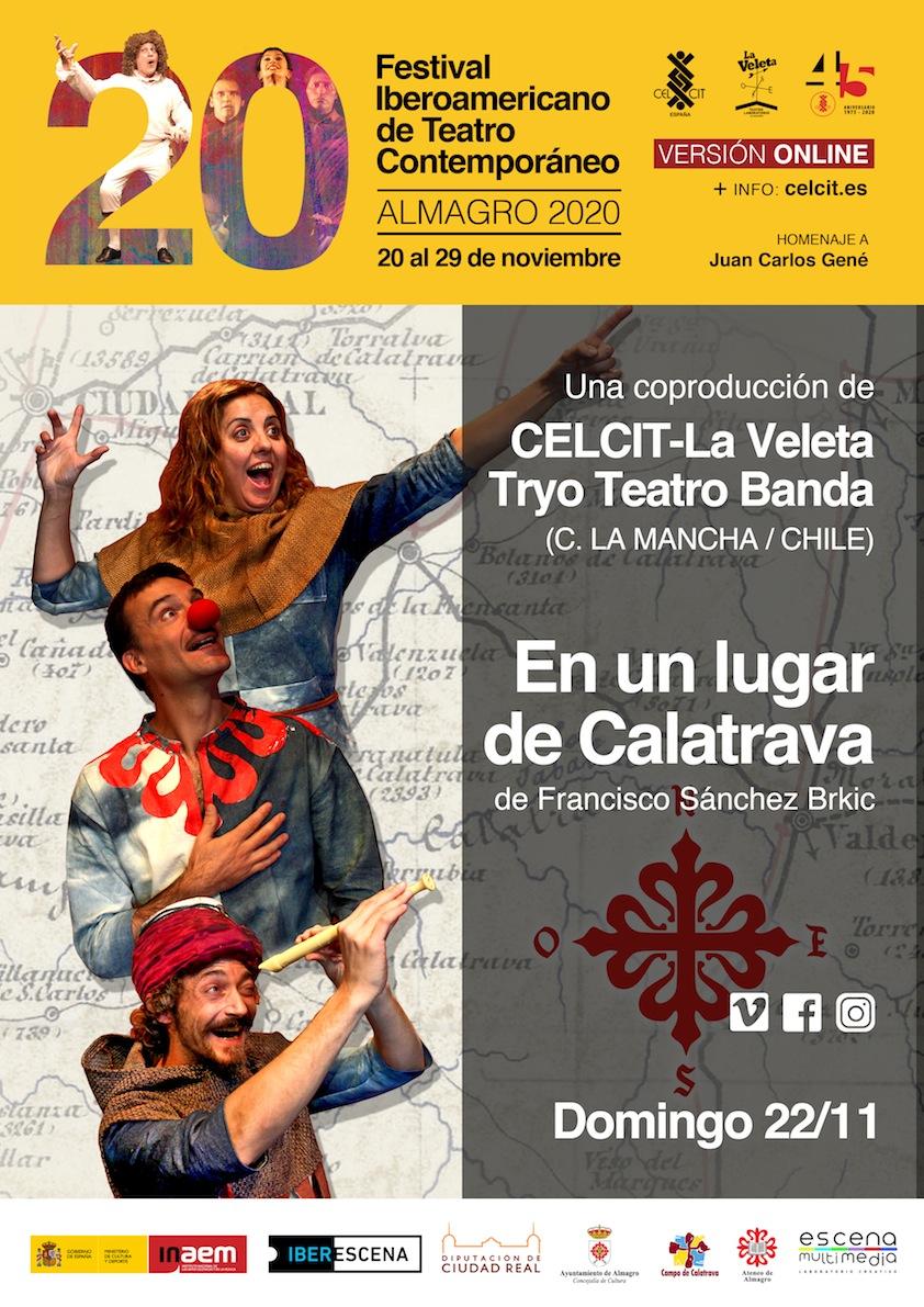 20 Festival Iberoamericano de Teatro Contemporáneo. Teatro familiar. En un lugar de La Mancha.