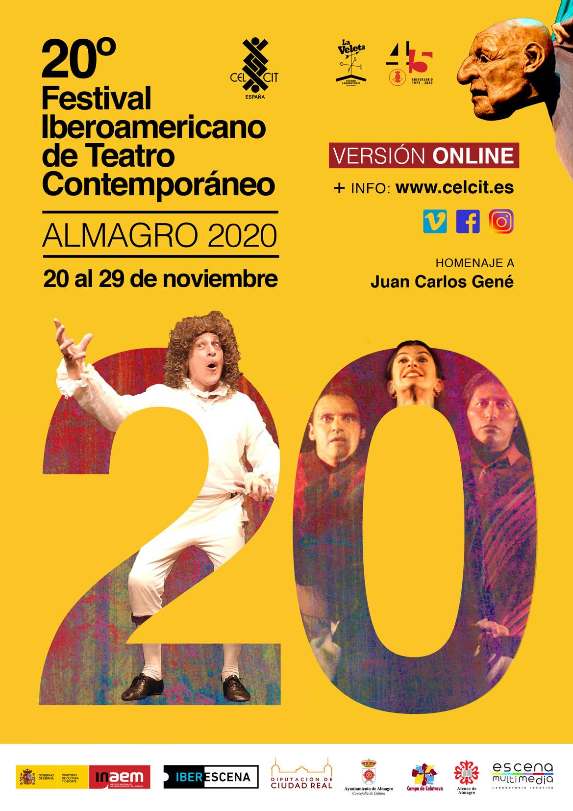 20 Festival Iberoamericano de Teatro Contemporáneo (del 20 al 29 de noviembre)