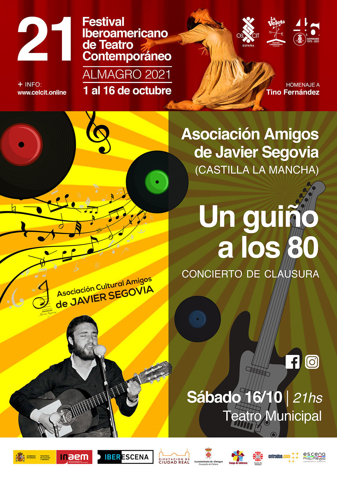 21 Festival Iberoamericano de Teatro Contemporáneo. Un guiño a los 80 (Castilla-La Mancha)