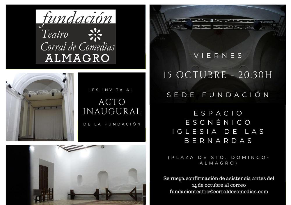 Presentación de la Fundación Teatro Corral de Comedias