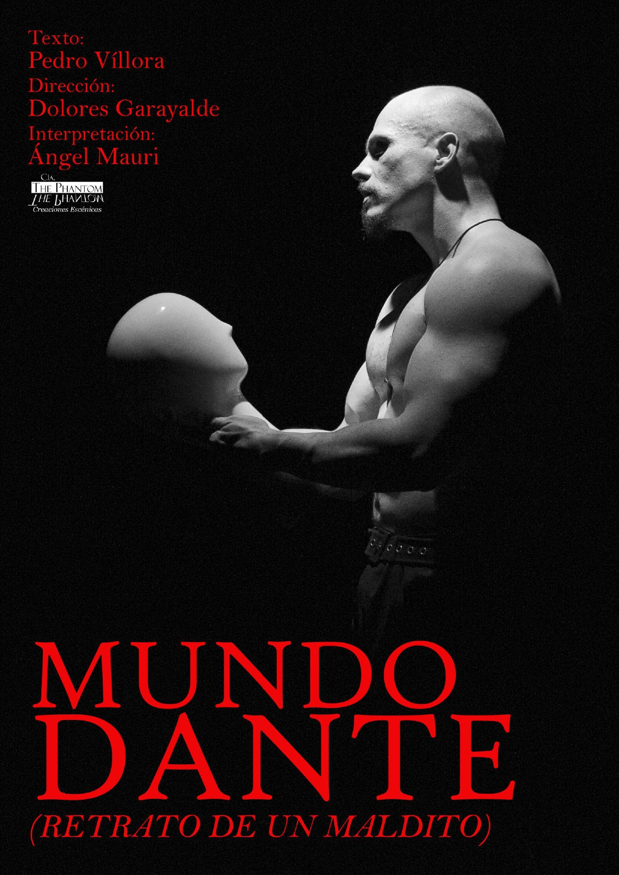 Obra de teatro. Mundo Dante.