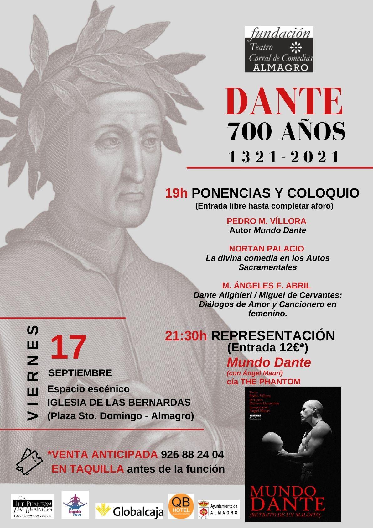 Jornada 700 años Dante